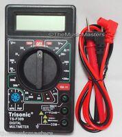 Compact Lcd Digital Multimeter Tester Ac Dc Voltmeter Precision Multitester Tool
