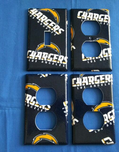 Los Angeles Chargers Light Switch Covers Football Nfl Home Decor Outlet Home Garden Wall Plates Ayianapatriathlon Com