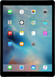 f8a801689d Apple iPad Pro 1st Gen. 128GB Wi-Fi + Cellular (Unlocked) 12.9'' Tablet -  Space Gray