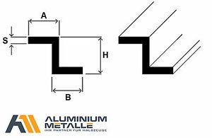 Aluminium-Z-Profil-Alu-AlMgSi05-Profil-Winkel-S-Profil-6060-Stab-Aluprofil-Z-Alu