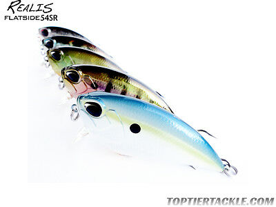 DUO Realis Flatside 54SR Shallow Diving Crankbait Lure - Select Color(s)