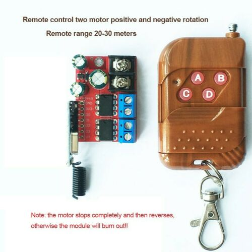 433MHz Wireless Remote Control Switch with Antenna Transmitter Receiver