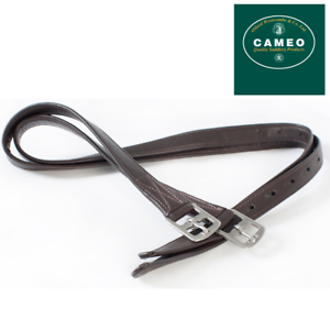 Cameo Anti Stretch Synthetic Stirrup Leathers **FREE UK Shipping**
