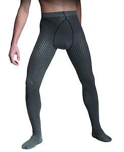 strips herren strumpfhose grau oder jeans m xl 40 den von. Black Bedroom Furniture Sets. Home Design Ideas