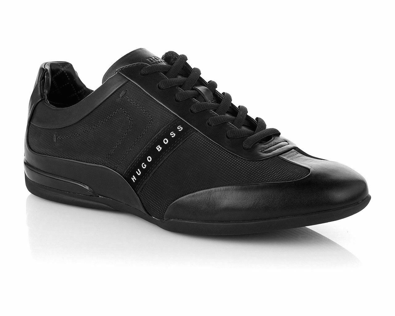 Mens Hugo Boss Green Space Select 50286097 001 Trainers Black