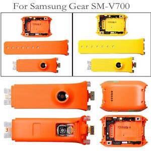 Silicone-Cinturino-Braccialetto-Watch-Strap-Back-Cover-per-Samsung-Gear-SM-V700