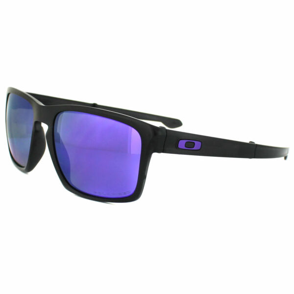a2b7995989 Oakley Sunglasses Sliver F Oo9246-07 Matt Black Violet Iridium Polarized