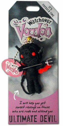 """Watchover Voodoo Doll Ultimate Devil  3/"""" New Lucky Charm"""