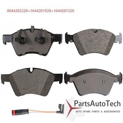 For Mercedes W164 GL ML R Class Rear Disc Brake Pads Pad Set w// Sensor NEW