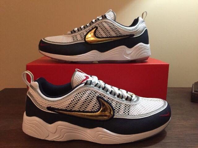 arrive 80d20 a8d5b NikeLab Air Zoom Spiridon Olympic Sz 8.5 100 Authentic Nike USA Gold 849776  174