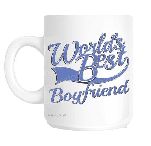 Boyfriend bleu world/'s best cadeau de nouveauté tasse shan866