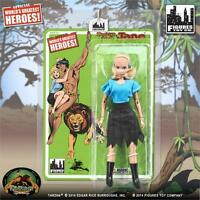 Tarzan Series 1; 8 Inch Action Figure , Jane, Figures Toy Co . Mosc