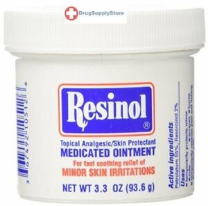 Resinol-Medicated-Ointment-3-3-oz-Skin-Protectant-Relives-Minor-Skin-Irritations