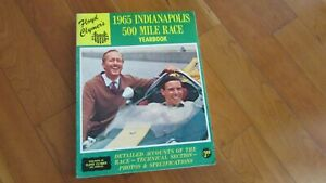 1965-Indy-500-Indianapolis-race-yearbook-Clymers-annual-Jim-Clark-wins-in-Ford