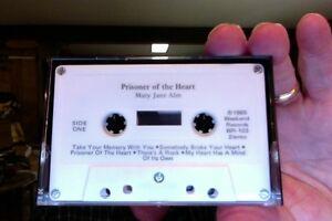 Mary-Jane-Alm-Prisoner-of-the-Heart-1986-used-cassette-tape-no-insert-card