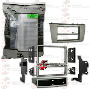 metra 99 8218 car double single din dash kit for 2007 2009 toyota camry. Black Bedroom Furniture Sets. Home Design Ideas