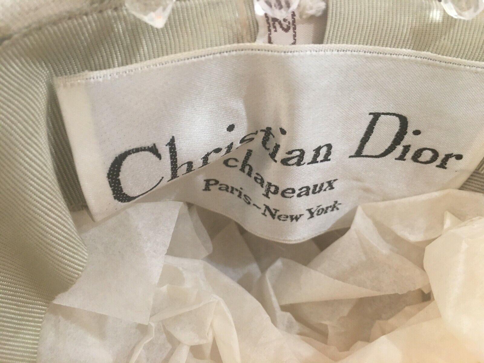 Vintage Christian Dior dress hat - image 4