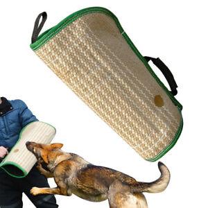 Image is loading Jute-Intermediate-Dog-Bite-Sleeve-Arm-Durable-for-