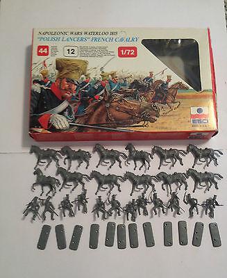 100% Vero Esci 218 Napoleonic Wars French Cavalry Completa Con Scatola Scala H0