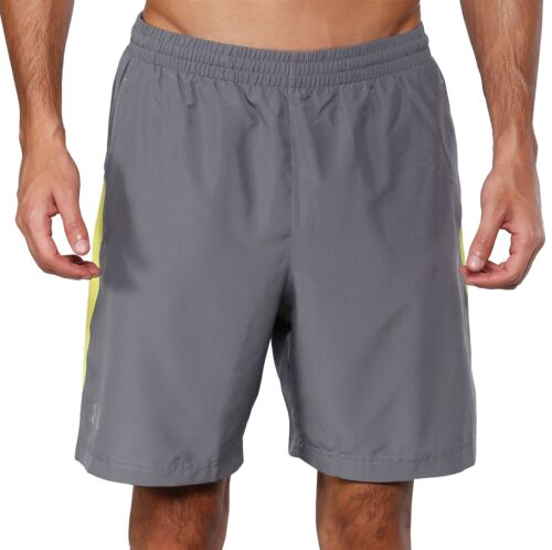 Under Armour Launch 7 Inch Mens Running Shorts Grey