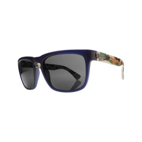 OHM Grey Sunglasses Electric Visual Knoxville XL Blue Jungle