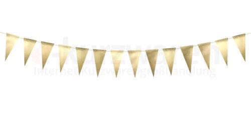 Anhänger Papiergirlande New Year Wimpel Golden Papier Wimpelkette Wimpelgirlande