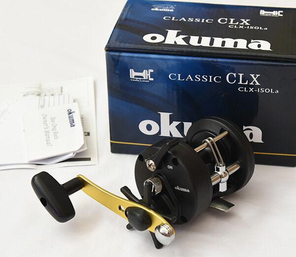 Okuma CLASSIC CLX-150La (RIGHT HANDLE) Bait Casting Reel