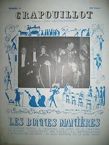 LE-CRAPOUILLOT-N-19-LES-BONNES-MANIERES-SAVOIR-VIVRE-A-TRAVERS-LES-AGES-1952