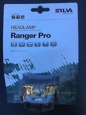 Silva Sweden Ranger pro Headlamp 34 Lumens 32 Meters LED light Torch Hunting