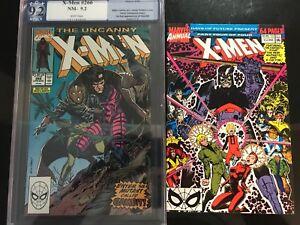 The-Uncanny-X-Men-266-Aug-1990-Marvel-PGX-Graded-9-2-amp-X-men-Annual-14