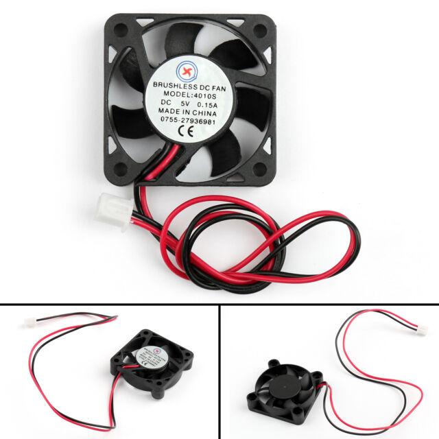 1x DC Sin Escobillas Ventilador Refrigeración 5V 0.15A 4010s 40x40x10mm 2Pin ES