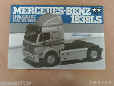 Tamiya 1/14 Mercedes 1838LS RC Truck 56305 Instruction Build Manual 1055629