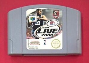 NBA Live 2000 - N64 -  Nintendo 64 - USADO - BUEN ESTADO