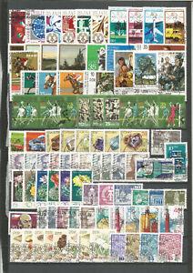 DDR-1974-gestempelt-kompletter-Jahrgang-mit-Einzelmarken