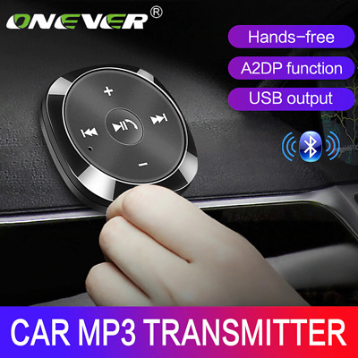 AUX-in Bluetooth Wireless Receiver Adapter Dongle for Car Stereo Audio Speaker !