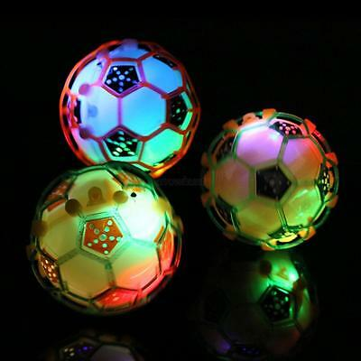 Vibrating Light-Up Self Bouncing Ball Flashing Dancing Kids Soccer Toys Fun A39