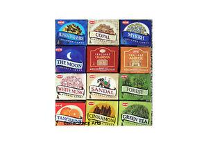 Hem-Incense-Cone-Collection-12-x10-Cones-120-Incense-Cones-Varity-Assortment-NEW