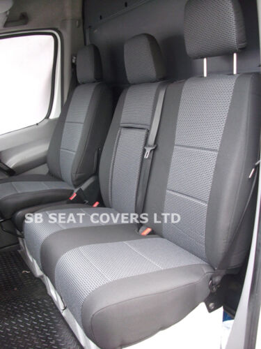 MERC ANTHRACITE MERCEDES SPRINTER VAN  SEAT COVERS 2010 MODEL MADE TO MEASURE