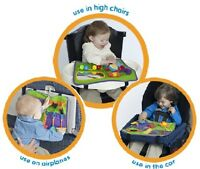 Star Kids Play-n-go Cover Toy Mat For Air Plane Travel Tray Or Highchair