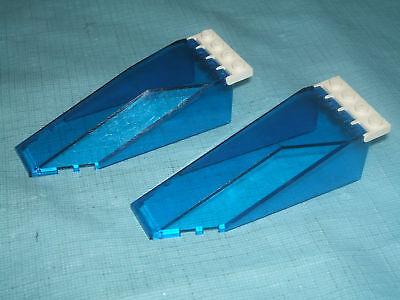 mixed shapes 8 x Vehicle Windscreens mixed Blue shades LEGO CAR PARTS