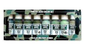 Av-Vallejo-Panzer-Aces-Vol-4-Acrylique-Couleur-Set-Pour-Modeles