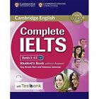 Complete IELTS Bands 5-6.5 Student's Book Without Answers with CD-ROM with Testbank: Bands 5-6.5 by Vanessa Jakeman, Guy Brook-Hart (Mixed media product, 2016)