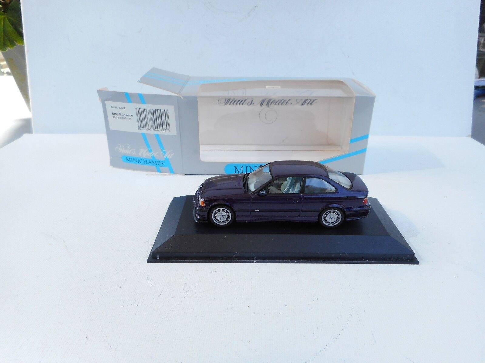 para proporcionarle una compra en línea agradable BMW 3 Serie E36 M3 Coupe Coupe Coupe Daytonapúrpurat Color  Minichamps 1 43  Neu OVP    autorización
