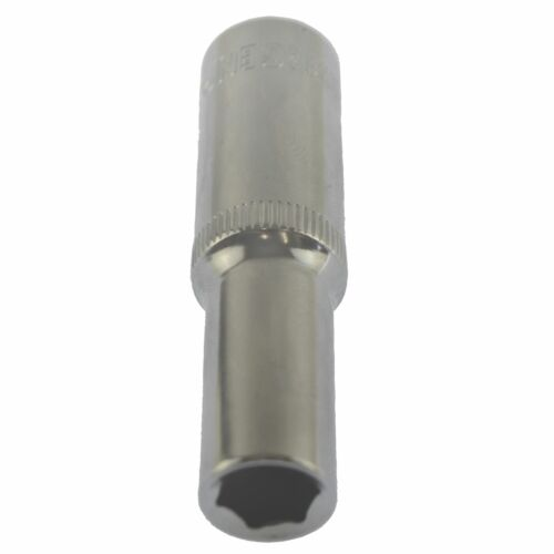 """11//32/"""" Imperial AF SAE Socket Double Deep 6 Sided Single Hex 3//8"""" Drive"""