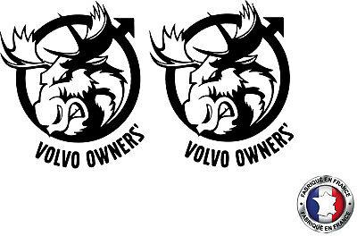 volvo041 Sticker autocollant Viking Volvo camion truck decals  Ref