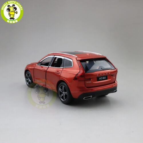 1//32 Volvo New XC60 Diecast Model CAR SUV Toys kids Pull Back Sound Lighting
