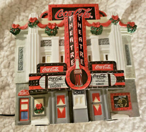 Coca Cola Town Square Collection Movie Theater-color changing lights