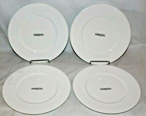 Mikasa-Ortley-8-1-4-034-Bone-China-Salad-Side-Plates-Set-of-Four-New