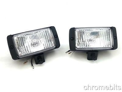 2X 12V 4X4 OFFROAD CAR  FOG SPOT LIGHT LIGHTS LAMP BULL BAR ROOF E-MARKED NEW
