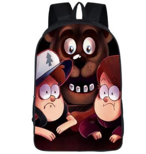 New Gravity Falls Vegeta Son Girls Boys School Backpack Kids Gift Book Bag